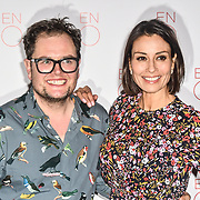 Alan Carr and Melanie Sykes Arrivals at La Bohème VIP Performance on 29 January 2019 at London Coliseum, London, UK.