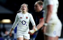 Lydia Thompson of England - Mandatory by-line: Robbie Stephenson/JMP - 04/02/2017 - RUGBY - Twickenham - London, England - England v France - Women's Six Nations