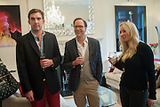 ROBIE HONEY; SUZIE TURNER, Party given by Basia Briggs and Richard Briggs at their home in Chelsea. London. 14 May 2012