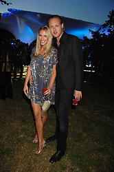 PETRINA KHASHOGGI and LORD EDWARD SPENCER-CHURCHILL at the annual Serpentine Gallery Summer Party in association with Swarovski held at the gallery, Kensington Gardens, London on 11th July 2007.<br /><br />NON EXCLUSIVE - WORLD RIGHTS