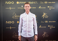 Nermin Hodzic of Gorica during SPINS XI Nogometna Gala 2019 event when presented best football players of Prva liga Telekom Slovenije in season 2018/19, on May 19, 2019 in Slovene National Theatre Opera and Ballet Ljubljana, Slovenia. ,Photo by Urban Meglic / Sportida