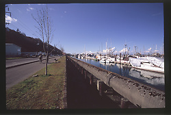 Marina, Port Angeles, Olympic Peninsula, Washington, US