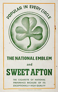 All Ireland Senior Hurling Championship Final, .Brochures,.05.09.1943, 09.05.1943, 5th September 1943, .Antrim 0-4, Cork 5-16,.Minor Dublin v Kilkenny, .Senior Antrim v Cork, .Croke Park, ..Advertisements, The National Emblem and Sweet Afton Cigarettes,