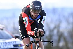 March 7, 2018 - Saint Etienne, France - SAINT-ETIENNE, FRANCE - MARCH 7 : TEUNS Dylan  (BEL)  of BMC Racing Team during stage 4 of the 2018 Paris - Nice cycling race, an individual time trial over 18,4 km from La Fouillouse to Saint-Etienne on March 07, 2018 in Saint-Etienne, France, 07/03/2018 (Credit Image: © Panoramic via ZUMA Press)