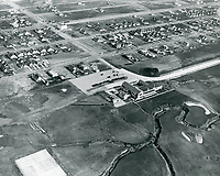 1921 Aerial photo of Wilshire Country Club