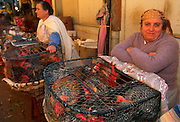 PORTUGAL, NORTH, DOURO RIVER, PORTO Mercado Bolhao, the city's main produce market with fish, live poultry and tripe (the city's specialty)