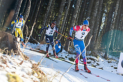 Matvey Eliseev (RUS) during the Men 20 km Individual Competition at day 1 of IBU Biathlon World Cup 2019/20 Pokljuka, on January 23, 2020 in Rudno polje, Pokljuka, Pokljuka, Slovenia. Photo by Peter Podobnik / Sportida