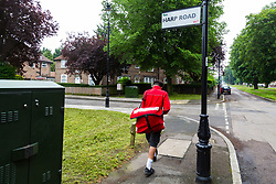 Royal Mail - Music themed streets - Harp Road, Ealing. London, May 30 2018.