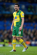 Graham Dorrans of Norwich City looking on. Barclays Premier league match, Chelsea v Norwich city at Stamford Bridge in London on Saturday 21st November 2015.<br /> pic by John Patrick Fletcher, Andrew Orchard sports photography.