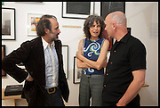 MIKE NELSON; LUCY GUNNING; ROY VOSS, Matt's Gallery 35th birthday fundraising supper.  42-44 Copperfield Road, London E3 4RR. 12 June 2014.