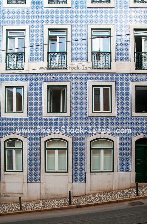 Street scene, Largo do Calhariz, Lisbon, Portugal