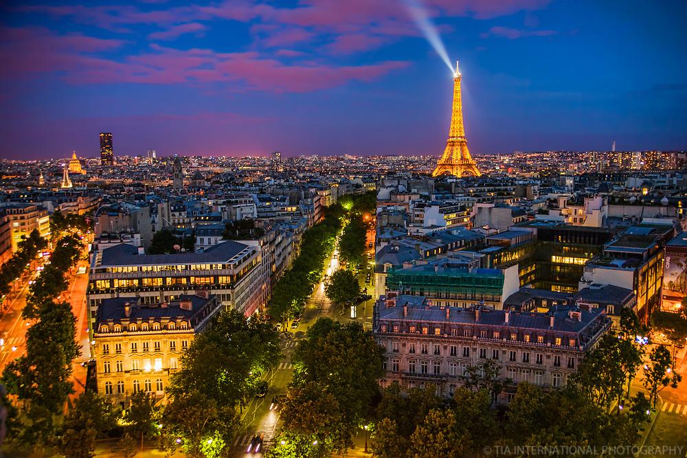Paris Blue Hour