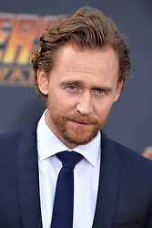 Tom Hiddleston attends the World Premiere of Avengers: Infinity War on April 23, 2018 in Los Angeles, California. Photo by Lionel Hahn/ABACAPRESS.COM