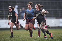 Wales women v Crawshays women - Mandatory by -line: Craig Thomas/Replay images - 23/11/2019 - Rugby Union - Eugene Cross Park - Ebbw Vale, Wales - Wales women v Crawshays women - Friendly