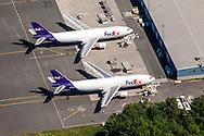 FedEx Aircraft at Windsor Locks Terminal