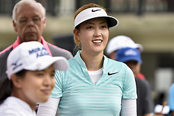 October 26, 2017 - Kuala Lumpur, Malaysia - Michelle Wie(C) of USA during day one of the Sime Darby LPGA Malaysia at TPC Kuala Lumpur on October 26, 2017 in Kuala Lumpur, Malaysia. (Credit Image: © Chris Jung/NurPhoto via ZUMA Press)