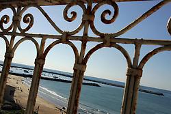View of the sea from the Al Deira Hotel, Gaza, Palestinian Territories, Feb. 7, 2005.