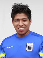 Football - Peruvian League Descentralizado - <br /> Movistar Trophy 2016 - Abertura Tournament / <br /> Club Alianza Lima - <br /> Willyan Mimbela