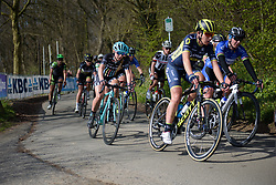 Annie Simpson at Women's Gent Wevelgem 2017. A 145 km road race on March 26th 2017, from Boezinge to Wevelgem, Belgium. (Photo by Sean Robinson/Velofocus)