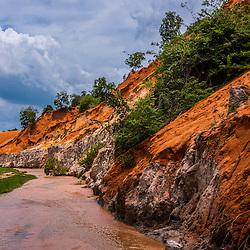 Vietnam - Mekong Delta and South East Coast Mui Ne fairy stream, Mui Ne - Vietnam