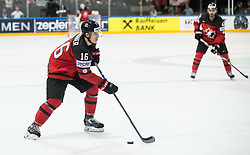 Mitch Marner of Canada during the 2017 IIHF Men's World Championship group B Ice hockey match between National Teams of Canada and Switzerland, on May 13, 2017 in AccorHotels Arena in Paris, France. Photo by Vid Ponikvar / Sportida