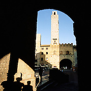Palazzo Comunale in San Gimignano, a UNESCO World Heritage Site in Tuscany, Italy