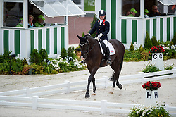 Ricky Balshaw, (GBR), LJT Enggaards Solitaire - Team Competition Grade Ib Para Dressage - Alltech FEI World Equestrian Games™ 2014 - Normandy, France.<br /> © Hippo Foto Team - Jon Stroud <br /> 25/06/14