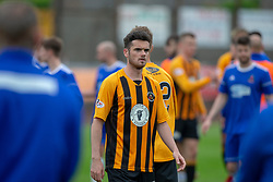 Berwick Rangers Aidan McLlduff at the end. Cove Rangers have become the SPFL's newest side and ended Berwick Rangers' 68-year stay in Scotland's senior leagues by earning a League Two place. Berwick Rangers 0 v 3 Cove Rangers, League Two Play-Off Second Leg played 18/5/2019 at Berwick Rangers Stadium Shielfield Park.