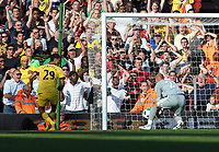 Pepe Reina Scores own goal after Arsenal's Marouane Chamakh Header<br /> Liverpool 2010/11<br /> Liverpool V Arsenal (1-1) 15/08/10<br /> The Premier League<br /> Photo Robin Parker Fotosports InternationalTest
