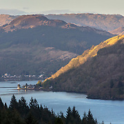 Last light, Arrochar, Argyll & Bute, Scotland.