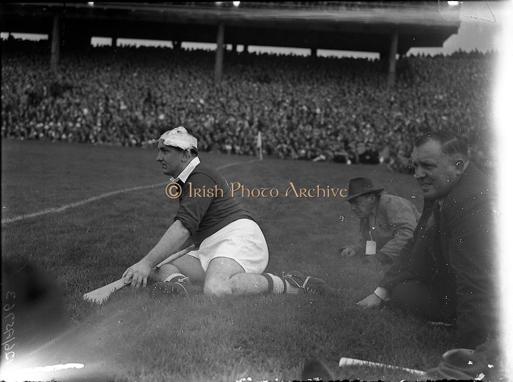 23/09/1956<br /> 09/23/1956<br /> 23 September 1956<br /> All-Ireland Final: Cork v Wexford at Croke Park, Dublin. Tony O'Shaughnessy (Cork Team).