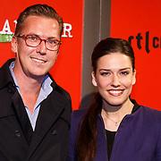 NLD/Amsterdam/20130107 - Premiere toneelstuk Baantjer, Renee Wegberg en ……………