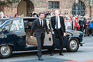 03.10.2017. Copenhagen, Denmark. <br /> Crown Prince Frederik's arrival to Christiansborg Palace for attended the opening session of the Danish Parliament (Folketinget).<br /> Photo: © Ricardo Ramirez