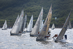 The Silvers Marine Scottish Series 2014, organised by the  Clyde Cruising Club,  celebrates it's 40th anniversary.<br /> Day 2 Combined Sigma and CYCA Class 6 Start<br /> Racing on Loch Fyne from 23rd-26th May 2014<br /> <br /> Credit : Marc Turner / PFM