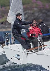 Clyde Cruising Club's Scottish Series 2019<br /> 24th-27th May, Tarbert, Loch Fyne, Scotland<br /> <br /> Day  1 - GBR7031N, Crhu, James Urquhart, Helensburgh SC, Hunter 707<br /> <br /> Credit: Marc Turner / CCC