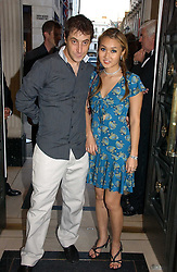 BRUCE WILPON and his wife YUKI OSHIMA-WILPON at a party to celebrate the re-opening of the David Morris Flagship store at 180 New Bond Street, London on 14th June 2006.<br /><br />NON EXCLUSIVE - WORLD RIGHTS