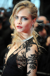 59650967 .Cara Delevingne during Cinema 66 EME Festival de Cannes, The Great Gatsby, France, May 15, 2013. Photo by: imago / i-Images. UK ONLY