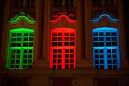 Christmas light on shops - Lille France