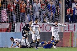 03-03-2007 VOETBAL: SEVILLA FC - BARCELONA: SEVILLA  <br /> Sevilla wint de topper met Barcelona met 2-1 / Ludovic Giuly<br /> ©2007-WWW.FOTOHOOGENDOORN.NL
