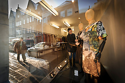 Style mavens who can't make it to Antwerp , the capital of Belgium's avant-garde fashion scene, will be thrilled to discover the boutique L'Héroïne  (Noordzandstraat 32 ; 32-50-33-56-57 ; lheroine.be ).  This unassuming shop stocks an outstanding collection of the country's most progressive designers, from established labels like Dries Van Noten  and Ann Demeulemeester  to young talent like Christian Wijnants. Racks are packed with beautifully draped silk print dresses, sharply cut asymmetric jackets, voluminous wool capes and thick knitted scarves – understated, cool pieces with not one ostentatious logo in sight. (Photo © Jock Fistick)