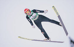 11.01.2020, Stadio del Salto, Predazzo, ITA, FIS Weltcup Nordische Kombination, Skisprung, im Bild Terence Weber (GER) // Terence Weber (GER) during Skijumping Competition of FIS Nordic Combined World Cup at the Stadio del Salto in Predazzo, Italy on 2020/01/11. EXPA Pictures © 2020, PhotoCredit: EXPA/ JFK
