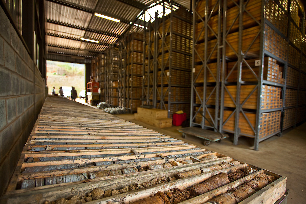 Morro do Pilar_MG, Brasil.<br /> <br /> Galpao de testemunhos minerais em Morro Pilar, Minas Gerais.<br /> <br /> Shed minerals in Morro Pilar, Minas Gerais.<br /> <br /> Foto: JOAO MARCOS ROSA / NITRO