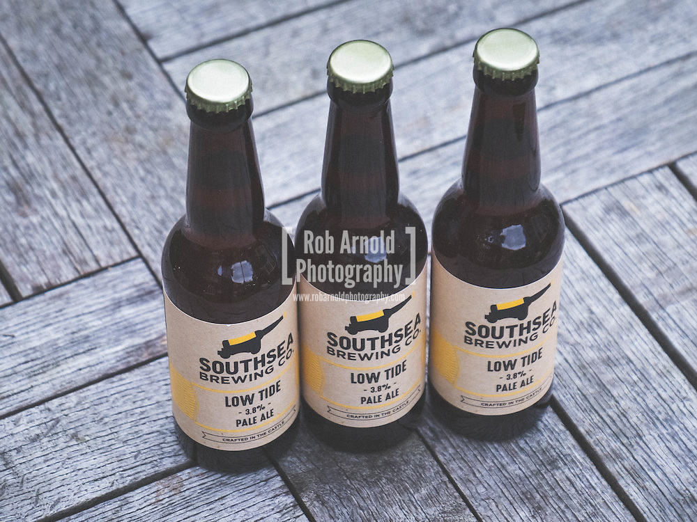 Low Tide Pale Ale, brewed by Southsea Brewing Co. which is an artisan brewery located in an old ammunition storage room within the walls of a coastal defence fort built by King Henry VIII in 1544.