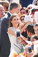 071917 Spanish Royals Visit to the Monastery of Santo Toribio de Liebana