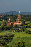 Pagodas of the ancient city of Bagan in Myanmar
