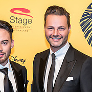 NLD/Scheveningen/20161030 - Premiere musical The Lion King, Fred van Leer en ............