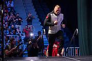 LAS VEGAS, NV - JULY 8:  Brock Lesnar walks to the scale during the UFC 200 weigh-ins at T-Mobile Arena on July 8, 2016 in Las Vegas, Nevada. (Photo by Cooper Neill/Zuffa LLC/Zuffa LLC via Getty Images) *** Local Caption *** Brock Lesnar