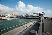 Israel, Tel Aviv the renovated old port now an entertainment centre.