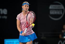 December 31, 2018 - Brisbane, AUSTRALIA - Marie Bouzkova of the Czech Republic in action during her first-round match at the 2019 Brisbane International WTA Premier tennis tournament (Credit Image: © AFP7 via ZUMA Wire)