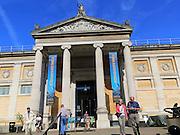 Ashmolean Museummain entrance, University of Oxford, England, UK architect Charles Robert Cockerell, 1841-1845